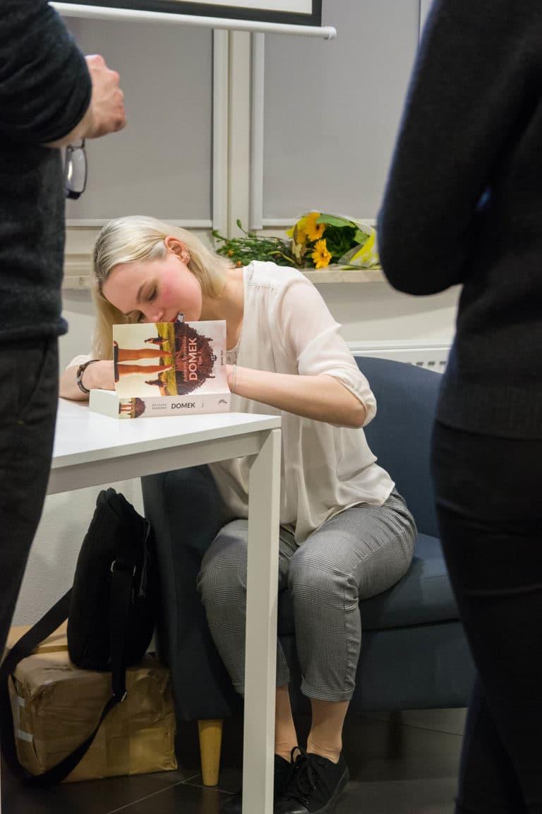 Spotkanie autorskie Adrianny Szymańskiej w Piasecznie.
