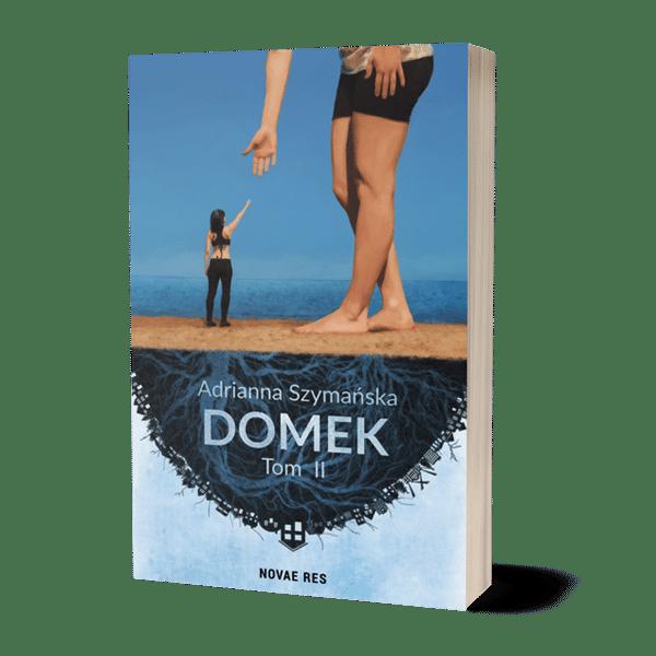 Mockup książki Domek tom 2 Adrianna Szymańska